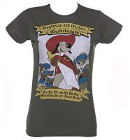 Ladies Dogtanian And The Three Muskehounds T-Shirt