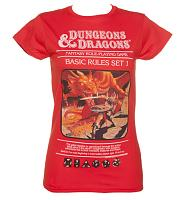 Ladies Dungeons and Dragons T-Shirt