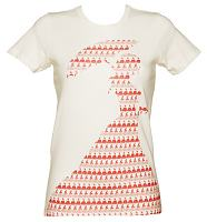Ladies Ecru Little Women Novel T-Shirt from Out Of Print