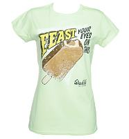 Ladies Feast Your Eyes On This Walls T-Shirt