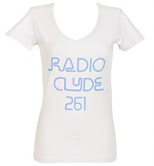 Ladies Frank Zappa Radio Clyde Scoop Neck T-Shirt from Worn Free [View details]