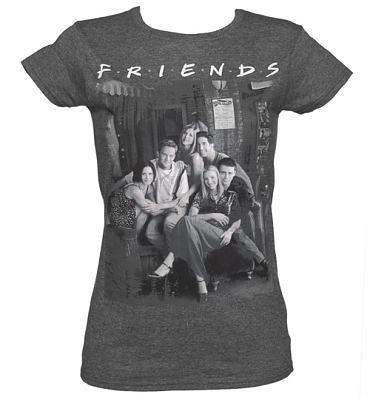 Ladies Friends Vintage T-Shirt