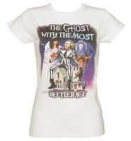 Ladies Ghost With The Most Beetlejuice T-Shirt
