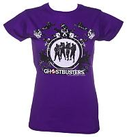 Ladies Ghostbusters Montage T-Shirt
