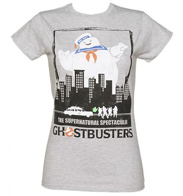 Ladies Ghostbusters Supernatural Spectacular T-Shirt