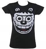 Ladies Gnasher Face Beano T-Shirt