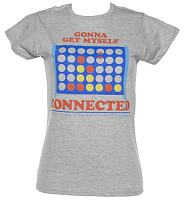 Ladies Gonna Get Myself Connected Connect 4 T-Shirt