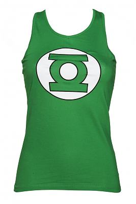 Ladies Green Lantern Logo Racer Vest
