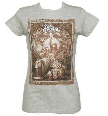 Ladies Grey Dark Crystal T-Shirt