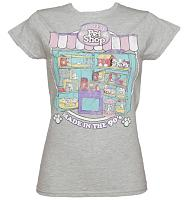 Ladies Grey Littlest Pet Shop T-Shirt