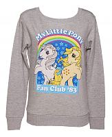 Ladies Grey My Little Pony Fan Club '83 Jumper