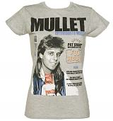 Ladies Grey Pat Sharp Mullets Enthusiast T-Shirt