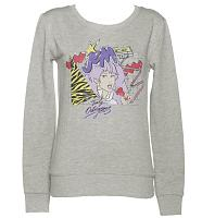 Ladies Grey Retro Jem And The Holograms Sweater