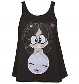 Ladies Hanazuki Design Swing Vest