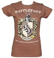 Ladies Harry Potter Hufflepuff Team Quidditch T-Shirt