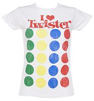 Ladies I Heart Twister T-Shirt
