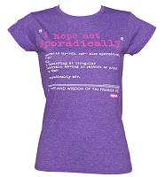 Ladies I Hope Not Sporadically Tai Clueless T-Shirt