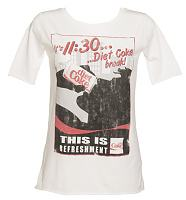 Ladies It's 11:30 Diet Coke Break Scoop Neck T-Shirt