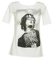 Ladies Jarvis Music Icon Slouch Scoop Neck T-Shirt