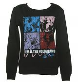 Ladies Jem And The Holograms Band Sweater