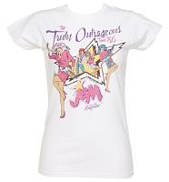 Ladies Jem And The Holograms Truly Outrageous 1986 Tour T-Shirt