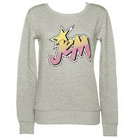 Ladies Jem and The Holograms Logo Sweater