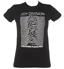 Ladies Joy Division Unknown Pleasures T-Shirt [View details]
