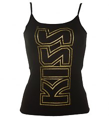 Ladies KISS Strappy Vest [View details]