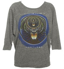 Ladies Long Sleeve Scarab Beetle Journey Raglan T-Shirt from Chaser LA [View details]