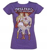 Ladies Masters of the Universe He-Man and She-Ra T-Shirt
