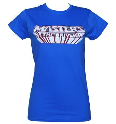 Ladies Masters of the Universe Logo T-Shirt