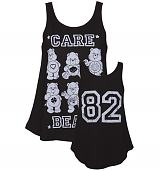 Ladies Monochrome Care Bears 82 Swing Vest