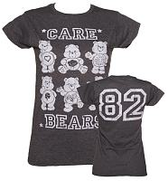 Ladies Monochrome Care Bears 82 T-Shirt