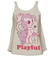 Ladies My Little Pony Friendship is Magic Pinkie Pie Playful Swing Vest