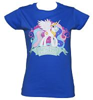 Ladies My Little Pony Friendship is Magic Princess Celestia T-Shirt