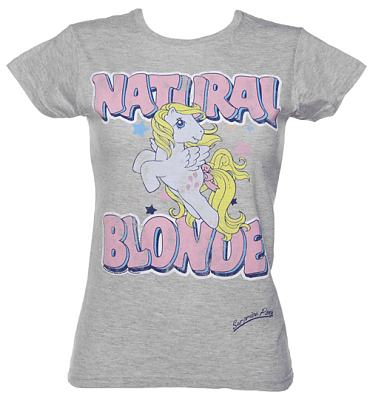 Ladies My Little Pony Natural Blonde T-Shirt