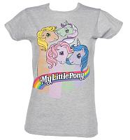 Ladies My Little Pony Stripes T-Shirt