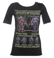 Ladies Neon Transformers Battle Slouch Scoop Neck T-Shirt