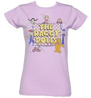 Ladies Lilac Raggy Dolls T-Shirt
