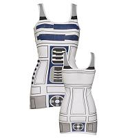 Ladies R2-D2 Star Wars Longline Vest