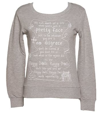Ladies Raggy Dolls Theme Tune Sweater