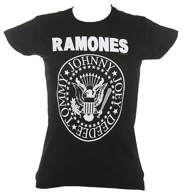 Ladies Ramones Hey Ho Let's Go T-Shirt