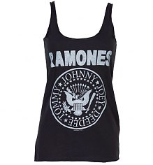 Ladies Ramones Logo Strappy Vest from Amplified Vintage [View details]