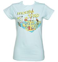 Ladies Retro Mouse Trap T-Shirt