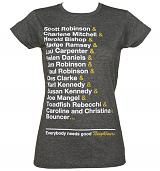 Ladies Retro Neighbours Residents T-Shirt