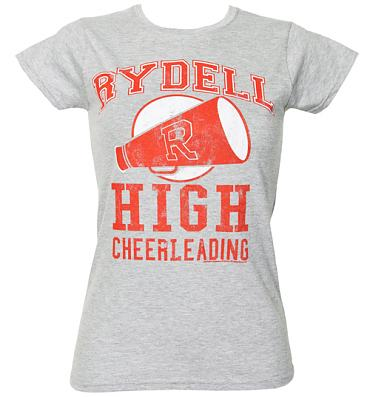 Ladies Grease Rydell High Cheerleading T-Shirt