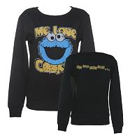 Ladies Me Love Cookies Sesame Street Sweater