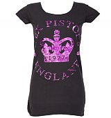 Ladies Sex Pistols 1977 Crown T-Shirt from Amplified Vintage