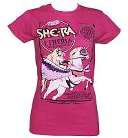 Ladies She-Ra Etheria World Tour 87 T-Shirt