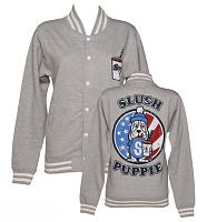 Ladies Slush Puppie US Flag Varsity Jacket